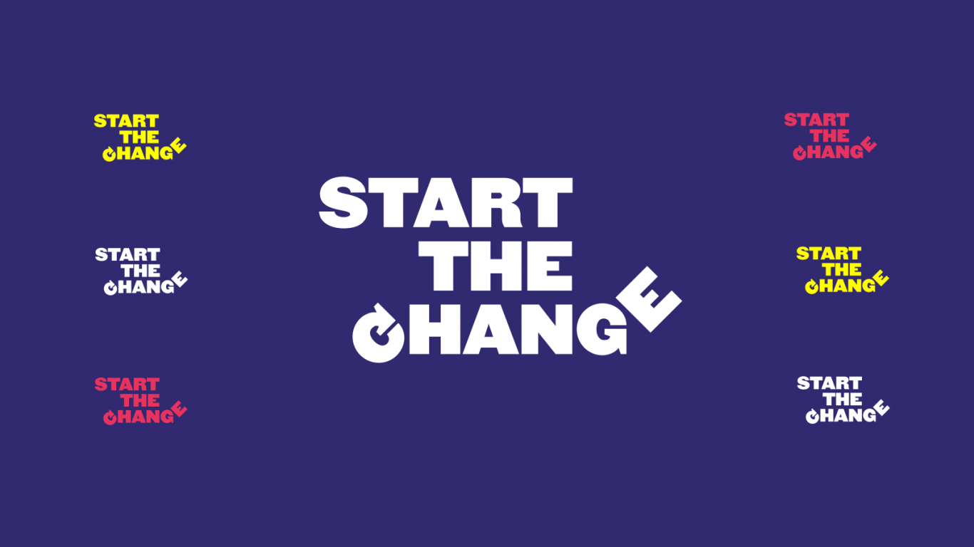 logo start the change